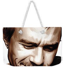Heath Ledger Artwork Weekender Tote Bag by Sheraz A