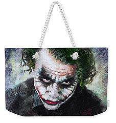 Heath Ledger The Dark Knight Weekender Tote Bag