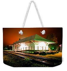 Heath Springs Depot Weekender Tote Bag