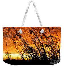 Sunset Heaven And Hell In Beaumont Texas Weekender Tote Bag