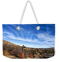 Weekender Tote Bag featuring the photograph Heaven by Angela J Wright