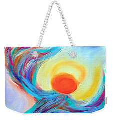 Heaven Sent Digital Art Painting Weekender Tote Bag by Robyn King