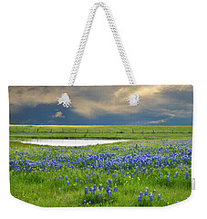 Heavenly Blues Weekender Tote Bag