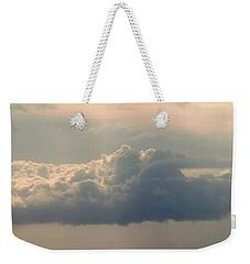 Heavenly Clouds Panorama Weekender Tote Bag by Patricia Strand