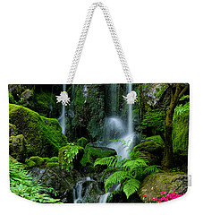 Heavenly Falls Serenity Weekender Tote Bag by Don Schwartz