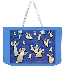 Heavenly Host Weekender Tote Bag