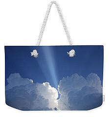 Heaven's Spotlight Weekender Tote Bag