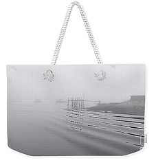 Heavy Fog And Gentle Ripples Weekender Tote Bag