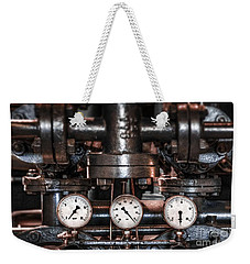 Heavy Machinery Weekender Tote Bag by Carlos Caetano