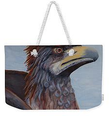 Griffon Weekender Tote Bag