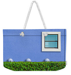 Weekender Tote Bag featuring the photograph Hedge Fund by Paul Wear