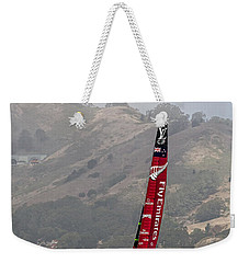 Weekender Tote Bag featuring the photograph Heeling by Kate Brown