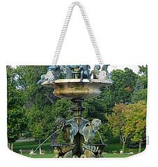 Heffelfinger Fountain Weekender Tote Bag