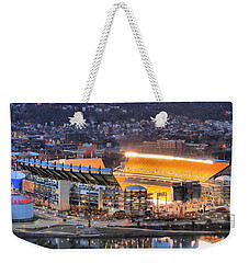 Heinz Field At Night Weekender Tote Bag