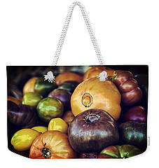 Heirloom Tomatoes At The Farmers Market Weekender Tote Bag