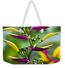 Heliconia Subulata II Weekender Tote Bag