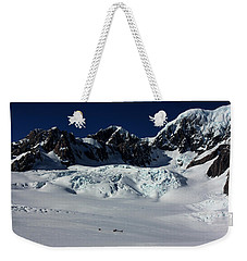 Weekender Tote Bag featuring the photograph Helicopter New Zealand  by Amanda Stadther