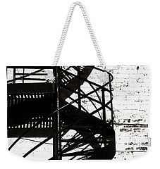 Weekender Tote Bag featuring the photograph Helix by Ethna Gillespie