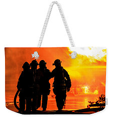 Hell Is For Hero's Weekender Tote Bag by Sennie Pierson