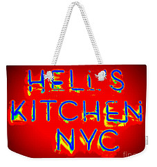 Hell's Kitchen Nyc Weekender Tote Bag