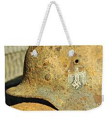 Steel Helmet Weekender Tote Bag