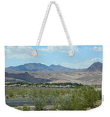 Weekender Tote Bag featuring the photograph Henderson Nevada Desert by Emmy Marie Vickers
