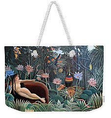 Henri Rousseau The Dream 1910 Weekender Tote Bag by Movie Poster Prints