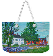 Henry Warren House And Barn Weekender Tote Bag