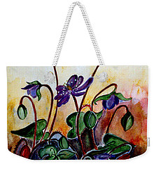 Hepatica After A Design By Anne Wilkinson Weekender Tote Bag