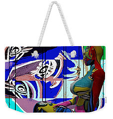 Her Abstract Journey Weekender Tote Bag