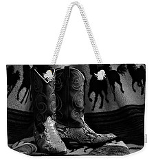 Her Favorite Pair Weekender Tote Bag by Kenny Francis