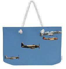Weekender Tote Bag featuring the photograph Heritage by David S Reynolds