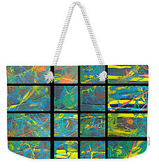 Weekender Tote Bag featuring the photograph Herbal Thoughts Part Two by Sir Josef - Social Critic - ART