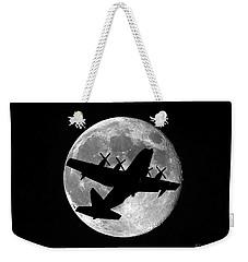 Hercules Moon Weekender Tote Bag