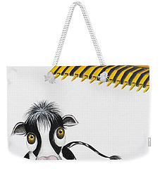 Here Comes The Bulldozer Weekender Tote Bag