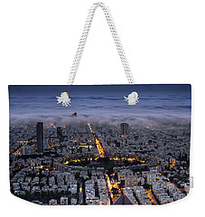 Here Comes The Fog  Weekender Tote Bag by Ron Shoshani