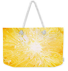 Here Comes The Sun Weekender Tote Bag by Kume Bryant