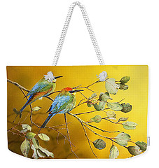 Here Comes The Sun - Rainbow Bee-eaters Weekender Tote Bag