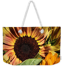 Here Comes The Sun Weekender Tote Bag by Robert McCubbin