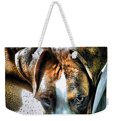 Weekender Tote Bag featuring the photograph Here's Lookin Atchya by Robert McCubbin