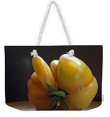 Heres What We Think Weekender Tote Bag by Joe Schofield