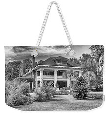 Weekender Tote Bag featuring the photograph Herlong Mansion by Howard Salmon