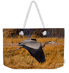Weekender Tote Bag featuring the photograph Heron  #5811 by J L Woody Wooden