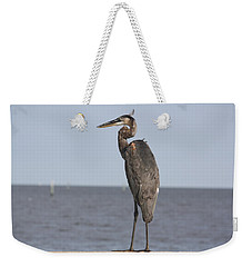 Heron Weekender Tote Bag by Donna G Smith