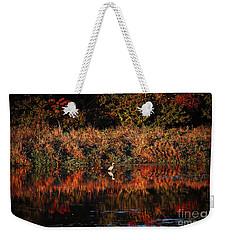 Heron Hideaway Weekender Tote Bag