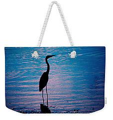 Herons Moment Weekender Tote Bag