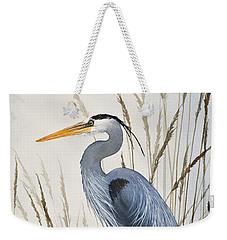 Herons Natural World Weekender Tote Bag by James Williamson