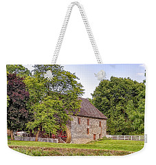 Weekender Tote Bag featuring the photograph Herr's Mill by Jim Thompson