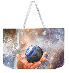 He's Got The Whole World In His Hand Weekender Tote Bag