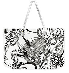 Hexagon Cats Weekender Tote Bag